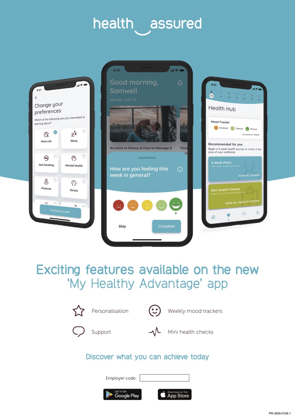 EAP – My Healthy Advantage Smartphone App